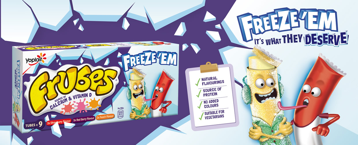 Try Me Frozen - Frubes - Freeze 'Em