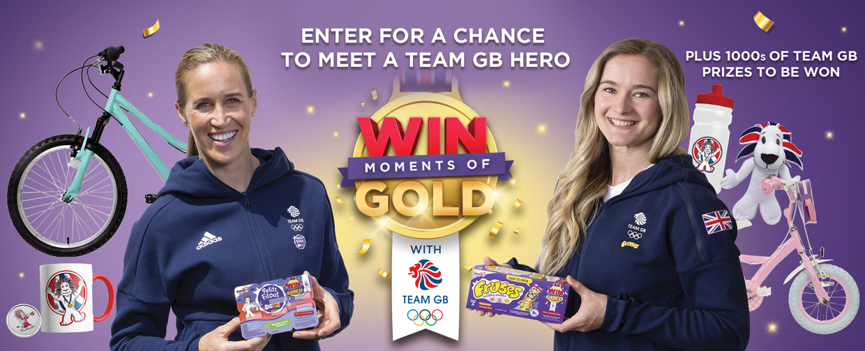 Enter for a Chance to Meet a Team GB Hero
